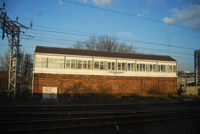 Stockport No. 2 signalbox