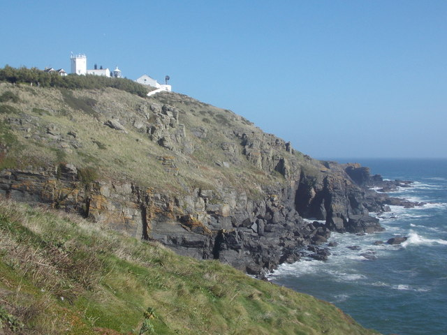 The Lizard: the lighthouse from the west
