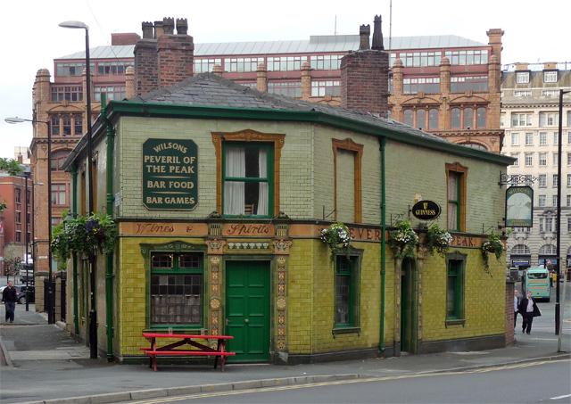 Peveril of the Peak, Great Bridgewater Street, Manchester