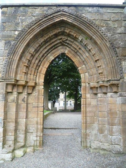 Processional doorway, Kilwinning Abbey