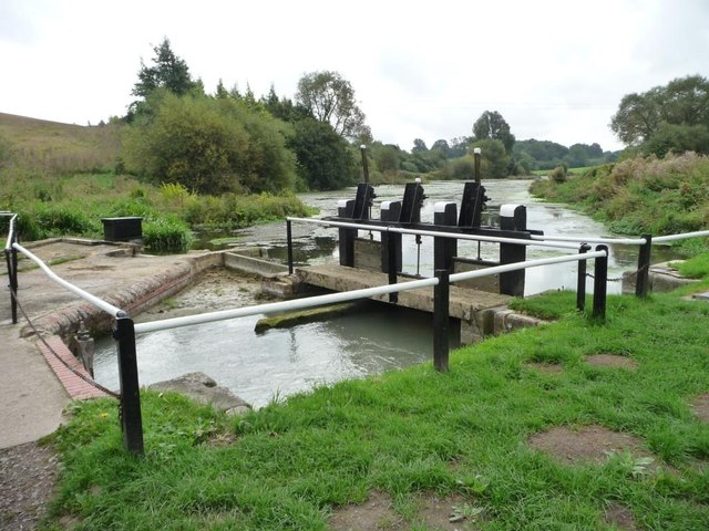 Paddle gear [sluice gates], Wilton Water