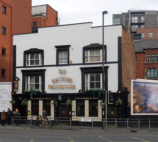 Briton's Protection, Great Bridgewater Street, Manchester