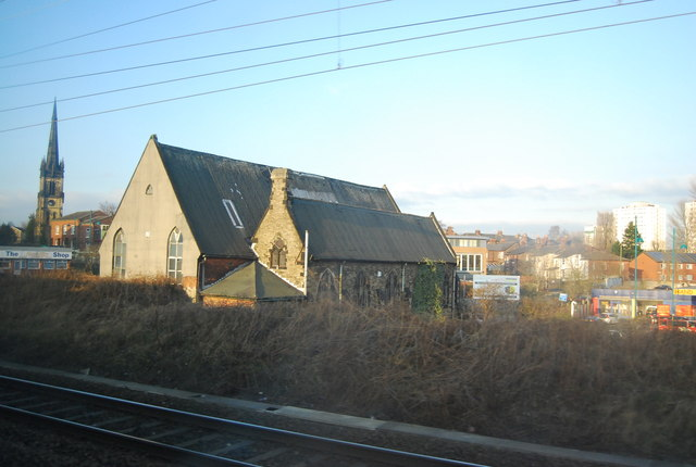 Church by the West Coast Main Line