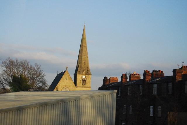 Church spire, Levenshulme