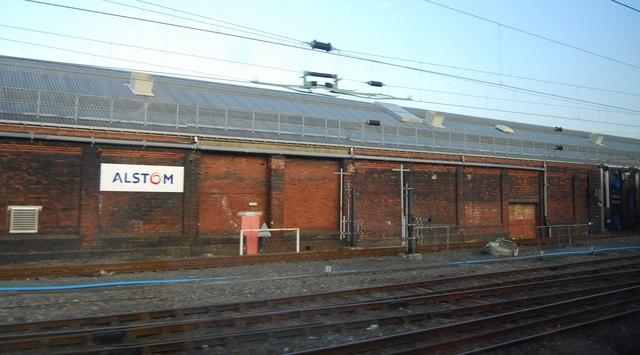 Longsight Railway Depot