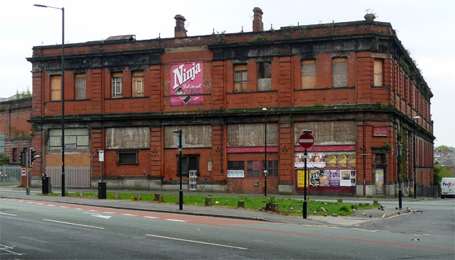 Former Mayfield station, Travis Street, Manchester