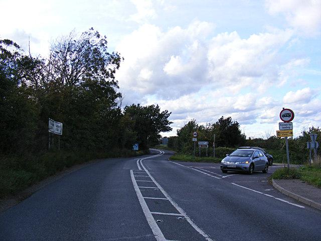 A134 Sudbury Road, Cornard Tye