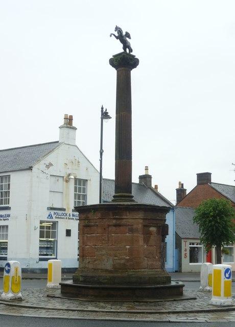 Thornhill mercat cross