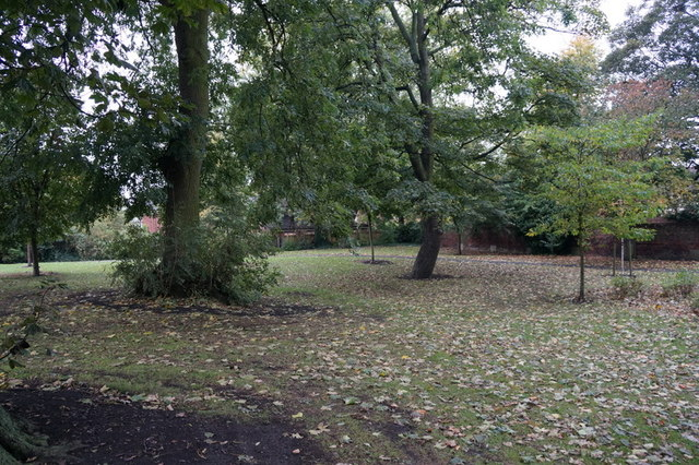 A small park on Little Mason Street, Hull