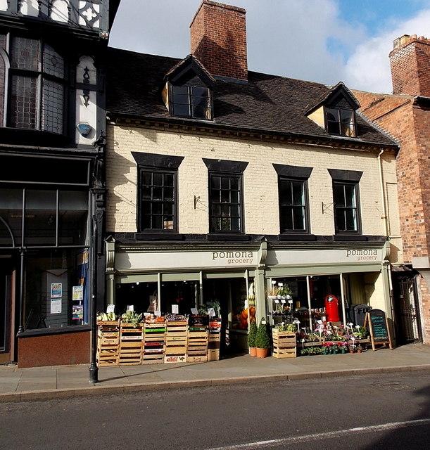 Pomona Grocery, Shrewsbury