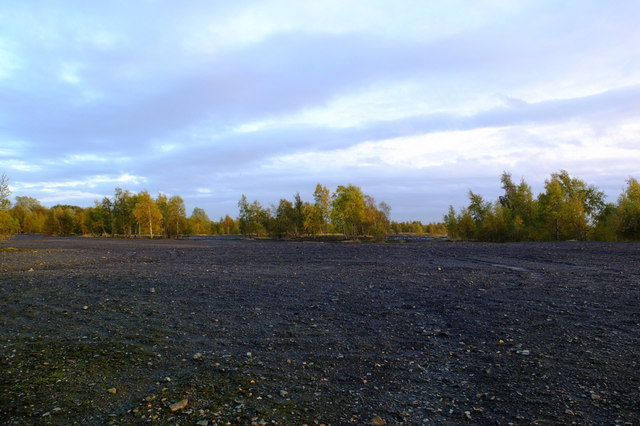 Slag Heaps, Standish Lower Ground