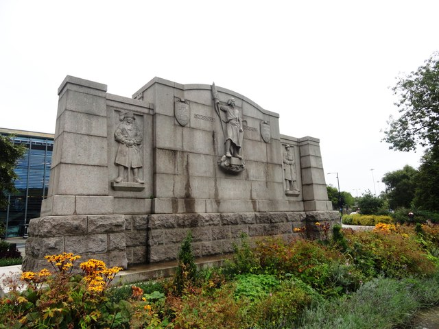 War Memorial at St Thomas's church, Newcastle