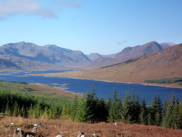 View over Loch Loyne