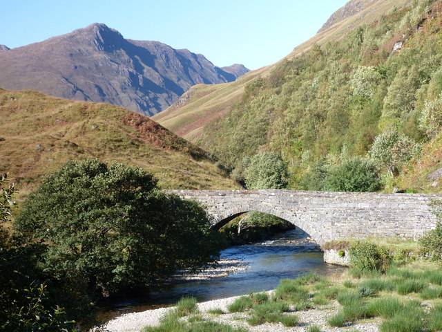 The old bridge at Glenshiel