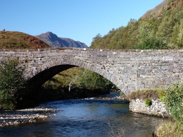 The old bridge at Glenshiel