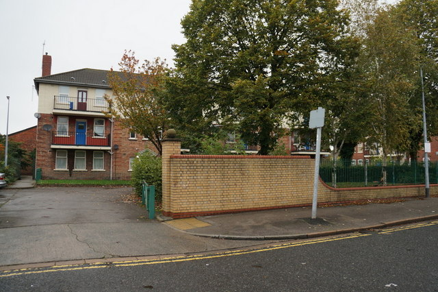 Flats on New George Street, Hull