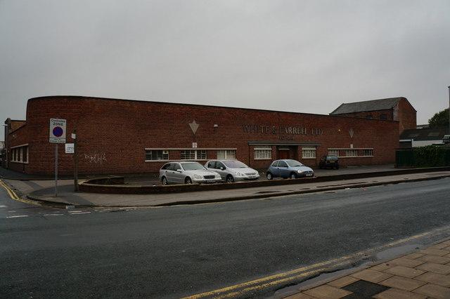White and Farrell on Caroline Street, Hull