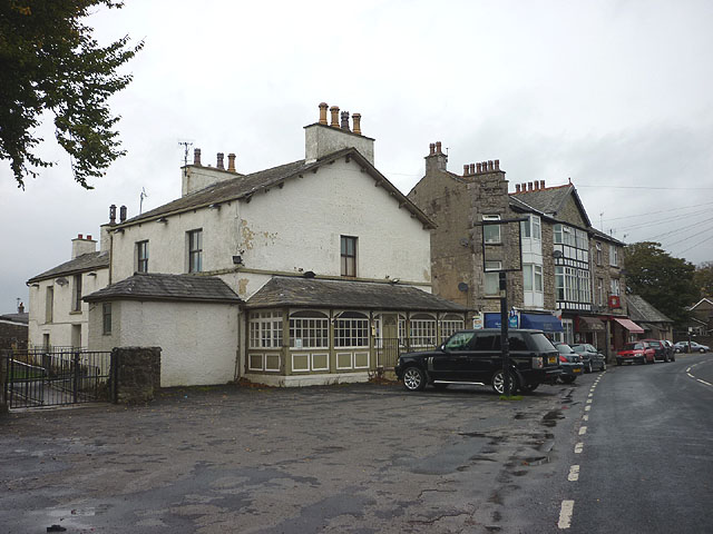 The former Royal Hotel, Silverdale