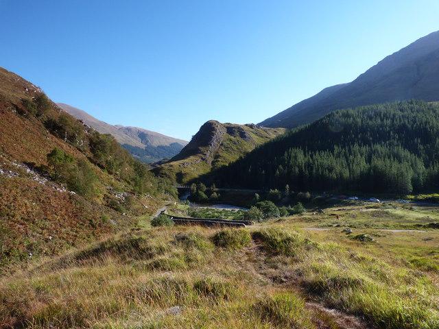 View up Glen Shiel