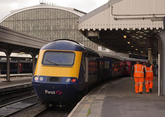 HST - Paddington Station