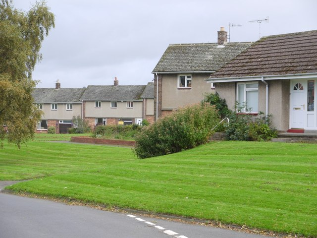Modern housing, Ovington