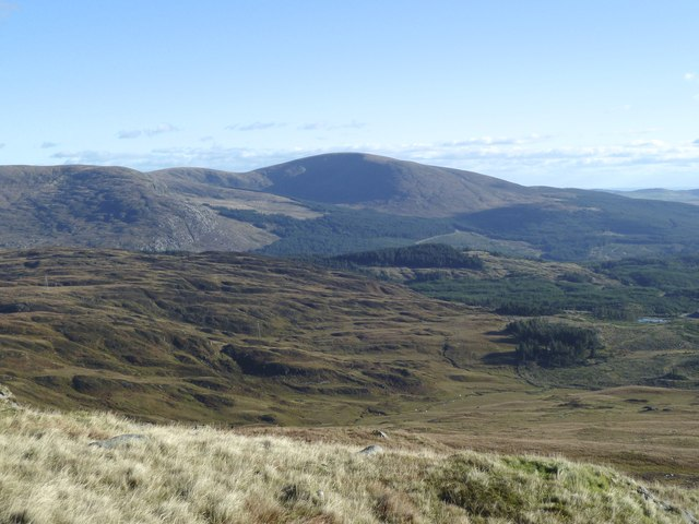 View across the Fell of Talnotry