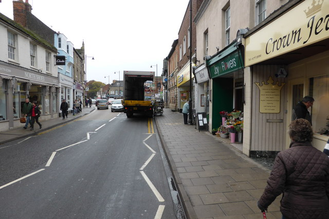 Blocking the road