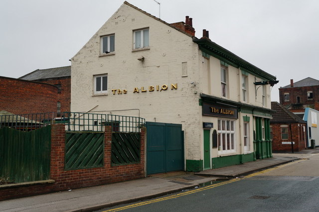 The Albion on Caroline Street, Hull
