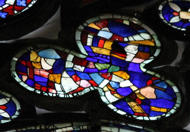 Segment E4, Dean's Eye Window, Lincoln Cathedral