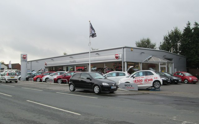 Fiat Dealership - Bradford Road