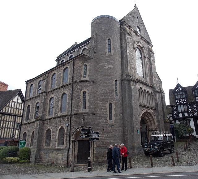 Former St Nicholas's Presbyterian Chapel, Shrewsbury