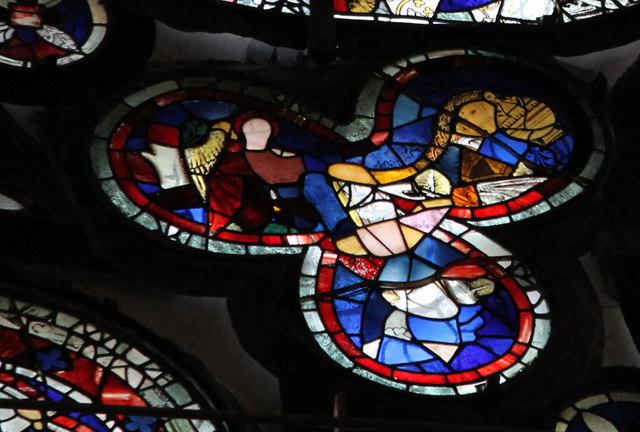 Segment E3, Dean's Eye Window, Lincoln Cathedral