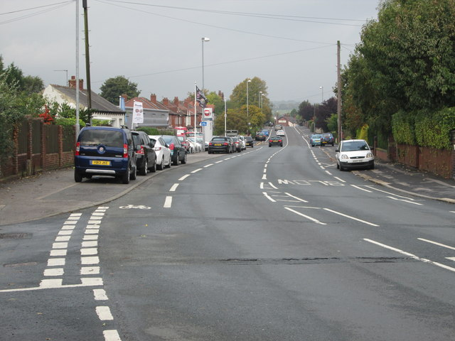 Bradford Road - viewed from Whitehall Rise