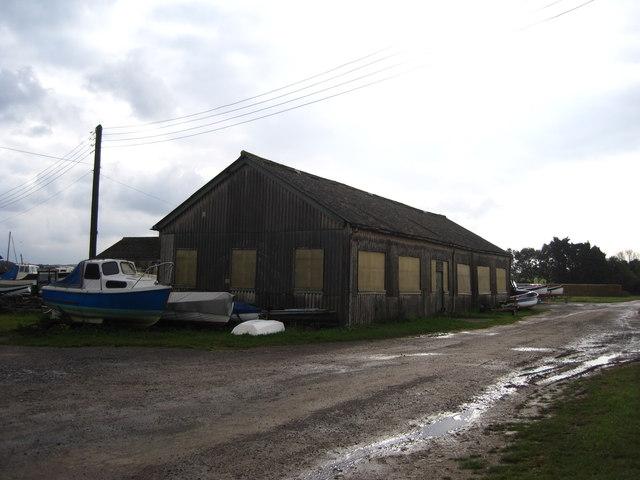 Stiffkey Marine boatyard