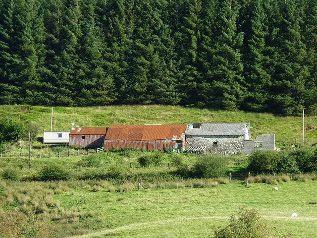 Outbuildings at Nantyrhwch, Powys