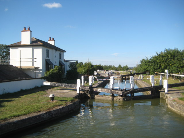 Grand Union Canal: Lock Number 34: Seabrook Bottom Lock