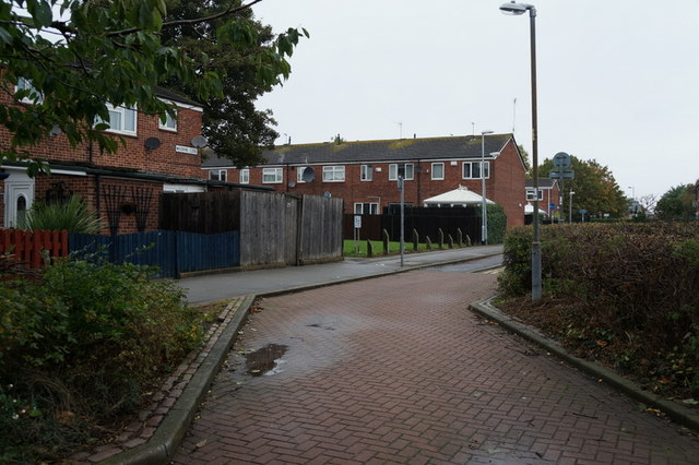 Houses on Woodbine Close, Hull