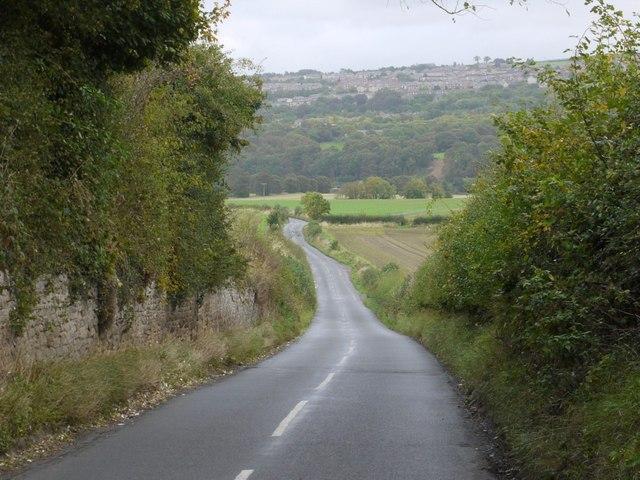 Road south-east of Ovington