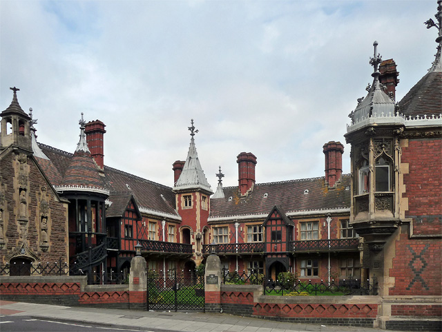 Foster's Almshouses, Colston Street, Bristol