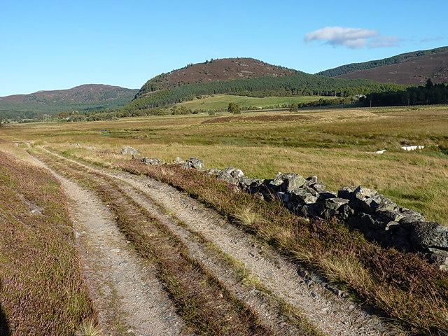 Track between Allanmore and Inverchandlick