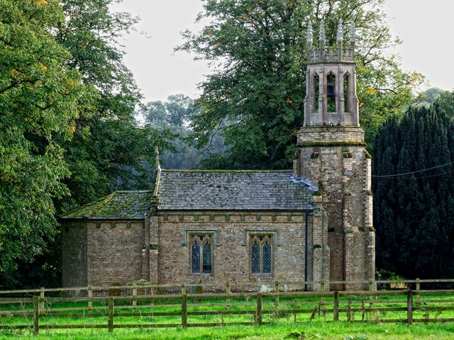 The Church of All Saints, Oxcombe