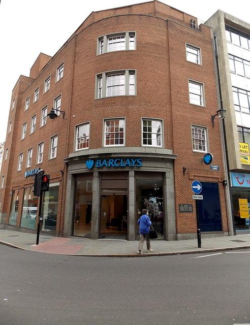Barclays Bank, Shrewsbury