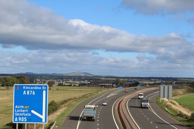 M876 approaching Junction 3