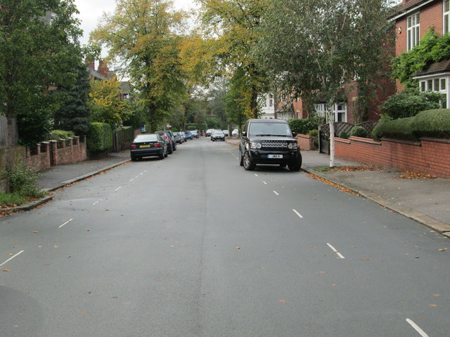 Oxford Road - viewed from Richmond Road