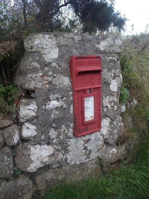 Zennor: postbox № TR26 113, Trendrine