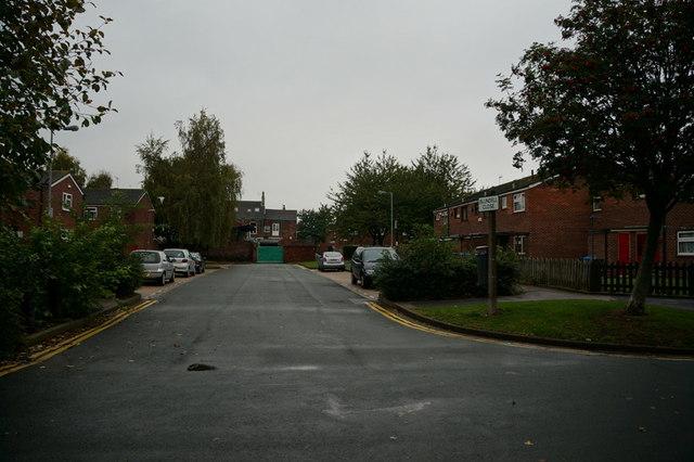Blundell Close off Brunswick Avenue, Hull