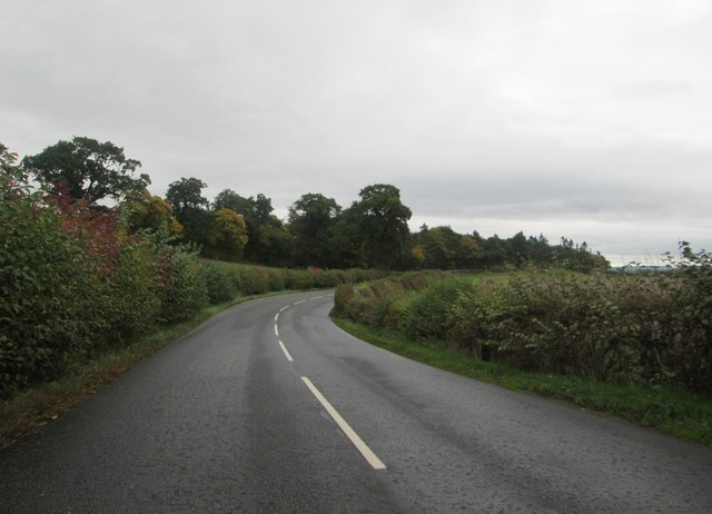 The A699 en route to Kelso