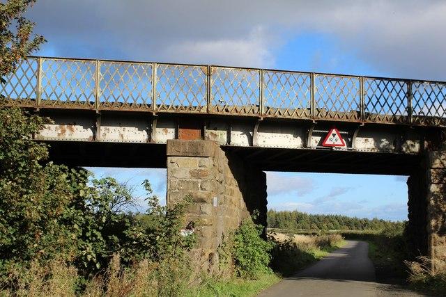 Railway Bridge east of Blairs