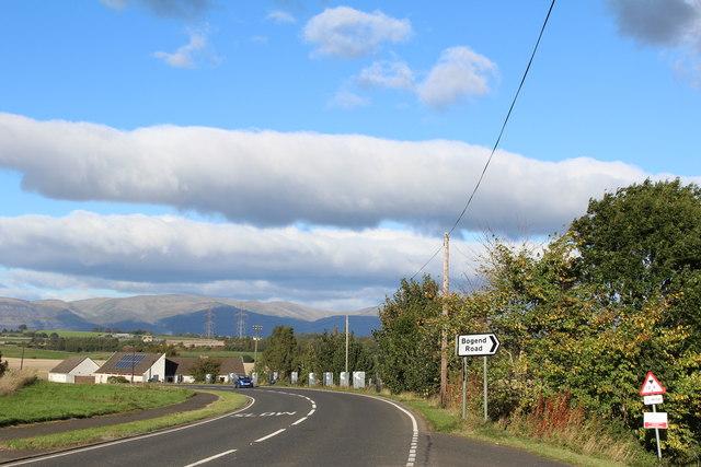 A9 at Bogend Road Junction