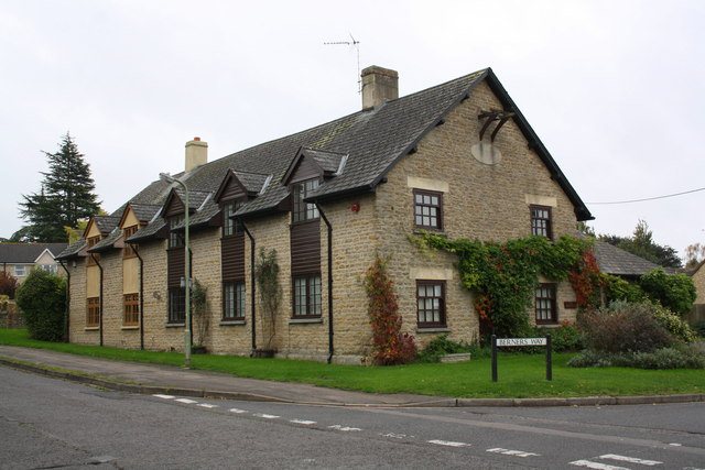 Former National School at Stanford Road/Berners Way junction
